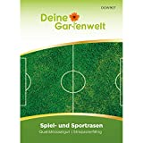 Spiel- und Sportrasen 45 g Samen | Nachsäpackung für 1,5 m² | Spielrasen | Rasensamen | Rasen Saatgut | Grassamen