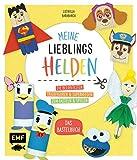 Meine Lieblingshelden – Das Bastelbuch: Die beliebtesten Trickfiguren und Superhelden zum Basteln und Spielen – Mit bebilderten Schritt-für-Schritt-Anleitungen für Kinder ab 4 Jahren