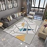Rutschfester Dicker Teppich, Fußmatte Für Den Couchtisch Im Wohnzimmer, Modern Und Einfach, Großflächig, Schlafzimmerdecken Können Gewaschen Werden