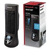 Honeywell QuietSet Ventilator (oszillierend, individuell einstellbar, Mini-Turmventilator, leiser Betrieb) HTF210BE