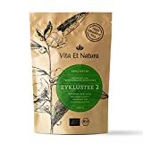 Vita Et Natura Zyklustee 2 - 100g loser Kräutermischung inspiriert von traditionellen Rezepturen - mit Frauenmantelkraut - 100% BIO / DE-ÖKO-001