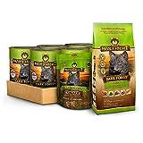Wolfsblut - Dark Forest Nassfutter Mixpaket 6 x 395g + 500g + 225g - Trockenfutter - Hundefutter - Getreidefrei - Probierpaket