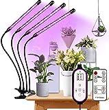 Pflanzenlampe LED, Pflanzenlicht Vollspektrum, 360°Einstellbar LED Grow Lampe Pflanzenleuchte, Wachstumslampe mit Zeitschaltuhr für Gartenarbeit Bonsais, für Zimmerpflanzen, Gartenarbeit, Gew