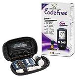 SD CodeFree Blutzuckermessgerät Set mit Teststreifen, Diabetes-Set mg/dL, Vorteilspack zur Diabetes-Messung inkl. Blutzuckerteststreifen und Blutlanzetten