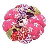 Sharplace Baumwolle Nadelkissen Blumen Form Stecknadelkissen Nähnadel Kissen für Nähzubehör DIY - E239-2