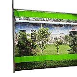 Abdeckplane Plane Gartenplanen im Freien Seitenwände, Transparente Zelt-Seitenwände, Outdoor Event Carport Garage Überdachung Schutzzelt, 1m 2m 3m 4m 5m 6m (Color : W×h, Size : 3.5×5m/11.5×16.4ft)