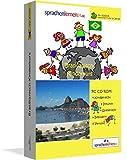 Brasilianisch-Kindersprachkurs von Sprachenlernen24.de: Kindgerecht bebildert und vertont für ein spielerisches Brasilianischlernen. Ab 5 Jahren. PC CD-ROM für Windows 8,7,Vista,XP / Linux / Mac OS X