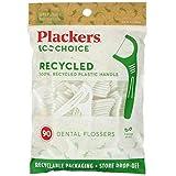 Plackers, EcoChoice Zahnseide, frische Minze, 90 Stück