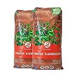 Plantura Bio Tomaten- & Gemüseerde, 80 L, torffrei & klimafreundlich, vorgedüng
