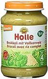 Holle Brokkoli mit Reis, 6er Pack (6 x 190 g) - Bio