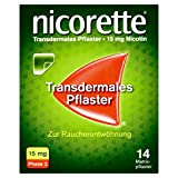 nicorette TX Pflaster 15 mg zur Raucherentwöhnung, 14 S