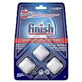 Finish Maschinenpfleger Tabs – Spülmaschinentabs gegen Schmutz & Fett im Inneren der Spülmaschine – Sparpack mit 3 x 3 Geschirrspülreiniger Tabs
