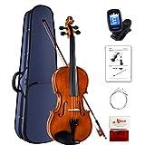 Aileen Violine 4/4 Anfänger Set, Geige Kinder Erwachsene mit Gebrauchsanweisung