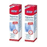SOS Vaginal-Gel, zur Behandlung von Trockenheit bedingtem Brennen und Juckreiz, Linderung bei vaginaler Trockenheit, Feuchtigkeits-Gel mit Langzeitwirkung, 2 x 30 ml