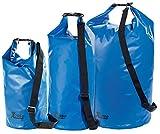 Xcase Wasserdichter Rucksack: Urlauber-Set wasserdichte Packsäcke 16/25/70 Liter, blau (Wasserfeste Packsäcke)