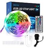 LED Strip 6M, RGB LED Streifen led leiste mit fernbedienung 5050 RGB Farbwechsel LED Lichtband für Schlafzimmer Küche Decke TV Bar Party