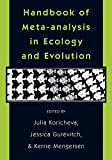 Koricheva, J: Handbook of Meta-analysis in Ecology and Evolu