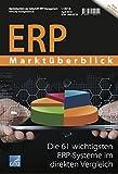 ERP Marktüberblick 1/2018: Die 61 wichtigsten ERP-Systeme im direkten Verg