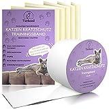 Tierhood Kratzschutz für Türen, Möbel und Wände [Selbstklebend] Hund & Katze Kratzfolie - Kratzschutz Sofa - Fensterschutz Katze - Anti Kratz Folie - Schutzfolie Tür - Sofa S