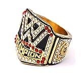 WWE Ring für 2016 Professional Wrestling Championship Ring Hall of Fame 9-12 Größe Fan Souvenirs Replik Bewegung Ring mit Holzbox, 9