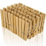 Holz Wäscheklammern A00154025 Natur aus Birkenholz, 45 mm, 100 Stück