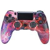 CNMLGB Wireless Controller für PS4 Slim/PS4 Pro,USB Controller für PC,Bluetooth Gamepad mit Dual-Vibration Audiofunktionen Playstation Controller Joystick - Klassisches Pink,W5
