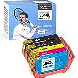 mycartridge SUPRINT 5 Patronen kompatibel für HP 364 364XL für HP Deskject 3520 3070A Photosmart 5520 7250 5510 5524 7510 6510 6520 5515 b110a b109a Officejet 4620 4622