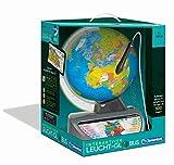Clementoni 59183 Galileo Science – Interaktiver Leucht-Globus, sprechende Weltkugel mit Fragen & Fakten, Spielzeug für Kinder ab 7 Jahren, Lernspielzeug