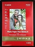 Canon Fotopapier, 20 Blatt 21 x 29, Hochglänzend glossy, PP-201 Photo Paper Plus Glossy II 275g, A4 210x297, PP201