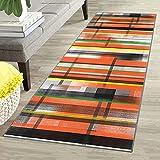 Oran9e Teppich Flur rutschfest 40x100cm Teppich Läufer Küche Waschbar abwaschbar in Versch Größen und Farben Tepiche für Flur Läufer für Wohnzimmer, Flur, Büro, Schlafzimmer, Küche