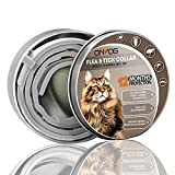 KATIX Floh- und Zeckenhalsband für Katzen, natürliche und sichere Flohhalsbänder, wasserabweisendes Halsband für Katzen, 12 Monate Arbeit für Katzen, Version 2021
