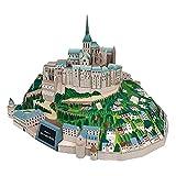 CYC Mont-Saint-Michel Frankreich Bastelpapier Modell Architektur 3D DIY Bildung Spielzeug Handmade Adult Puzzle Game