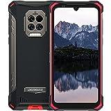 DOOGEE S86 PRO Outdoor Handy mit 2W Lautspreche, Outdoor Smartphone Ohne Vertrag 8GB+128GB 8500 mAh Akku, Wasserdicht 6,1' HD IP68 HelioP60 Octa Core GPS/NFC 2021 Robustes Handy(Rot)