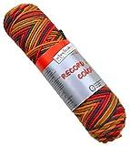 Schoeller & Stahl 'Record 210 color' Farbe 234 Häkelgarn bunte Häkelwolle Schulgarn Topflappengarn Wolle zum Häkeln
