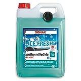 SONAX AntiFrost+KlarSicht -20°C IceFresh (5 l) schneller, schlierenfreier und effektiver Scheibenreiniger für den Winter   Art-Nr. 01335410