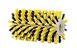 GLORIA Holzbürste UNIVERSAL | Zubehör für BrushSystem-Geräte (ausgenommen WeedBrush) | Holz-/WPC-Terrasse reinigen mittels Nylonbürste | 10 cm Durchmesser | 16,5 cm B