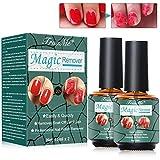 Magic Nagellackentferner, Nail Polish Remover, Nagellackentferner, Magic Remover -15 ml(2pcs), Professional entfernt tränkenden Gel-Nagellack in 3-5 Minuten, Schadet dem Nagel nicht