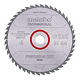 METABO Sägeblatt'precision cut wood - professional', 235x2,6/1,8x30, Z44 WZ 15° (628494000)
