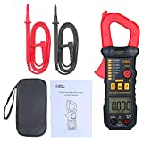 Festnight Digitales Zangenmessgerät Hochpräzises Multimeter mit automatischem Bereich AC-Zangenamperemeter Zangenmessgerät ST823