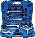 BGS 7760 | Außen-/Innenabzieher-Satz, 2- und 3-armig | 13-tlg. | bis 135 mm | Lager-Abzieher Werkzeug