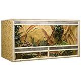 Holzkonzept OSB-Terrarium 150 x 80 x 80 cm Frontbelüftung