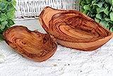 D.O.M. Schale oval rustikal aus Olivenholz (15-17 cm)