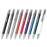 WPRO Metall Kugelschreiber'Jenny' mit Gravur Druck/Werbung/bedruckt ab 50 Stück (alle mit gleicher Gravur) - 100 Stück