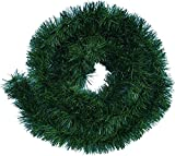 Handel24NET Excellente 5m künstliche Dekogirlande im Tannengrün - flexibel einsetzbar im Innen- und Aussenbereich - Diese Tannengirlande erfreut die ganze Familie