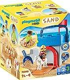 PLAYMOBIL-1.2.3 Sand 70340 Kreativset 'Sandburg', Ab 1,5 bis 4 Jahre