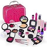 Kinder Kosmetikschmuck Spielen Sets Mädchen Makeup Kit Sichere Weihnachten Geburtstagsgeschenke für 3~13 Jahre M