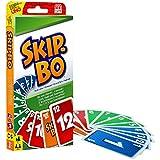 Mattel Games 52370 Skip-Bo Kartenspiel und Familienspiel geeignet für 2 - 6 Spieler, Spiel ab 7 J