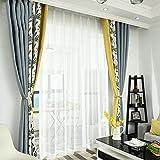 DC Wesley Europäischer Und Amerikanischer Stil Chenille Schlafzimmer Fertig Wohnzimmer Nähen Vorhänge Verdunkelungsvorhänge Fertiger Kaschmir