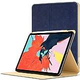 Forefront Cases Hülle für iPad Pro 12.9 2018 | Magnetische Case Cover und Ständer für Apple iPad Pro 12.9' 2018 | Automatische Schlaf-Wach-Funktion | Dünn Leicht | Königsblau