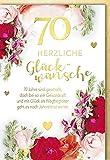 Verlag Dominique - 70. Geburtstag mit Briefumschlag -